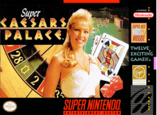 Super Caesars Palace sur Super Nintendo
