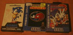 Quelques versions Megadrive