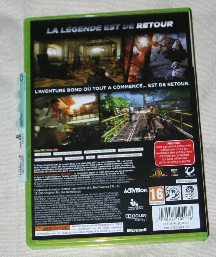 Goldeneye 007 Reloaded sur Xbox 360.