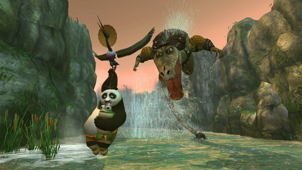 Kung Fu Panda sur Xbox 360.