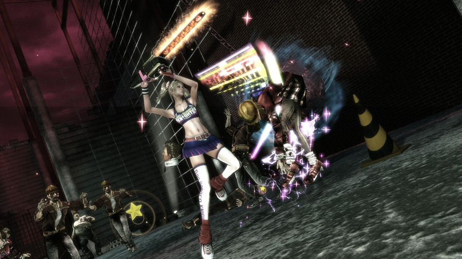 Lillipop Chainsaw sur Xbox 360.