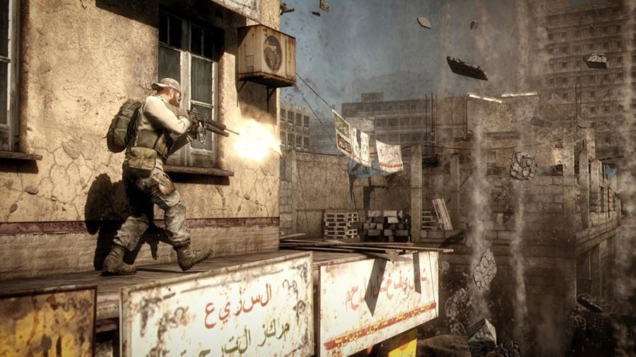 Medal Of Honor sur Xbox 360.