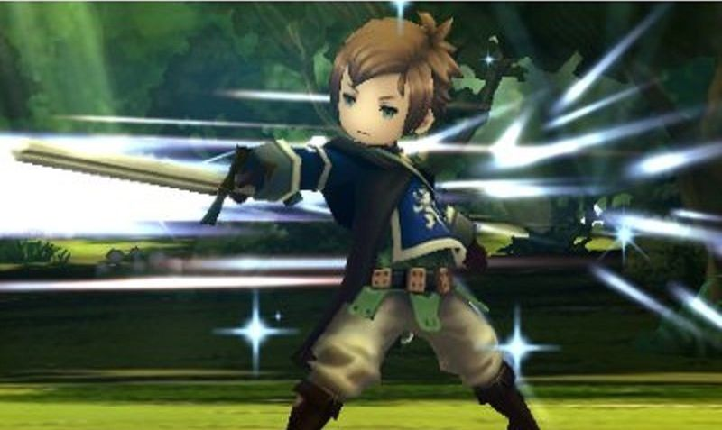Bravely Second sur 3DS.