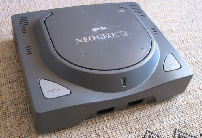 La NeoGeo CD Z, version top du top de cette console.