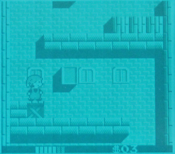 Milon's Secret Castle sur Game Boy.