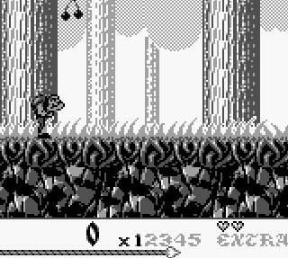 Super Hunchback - Le Bossu sur Game Boy.
