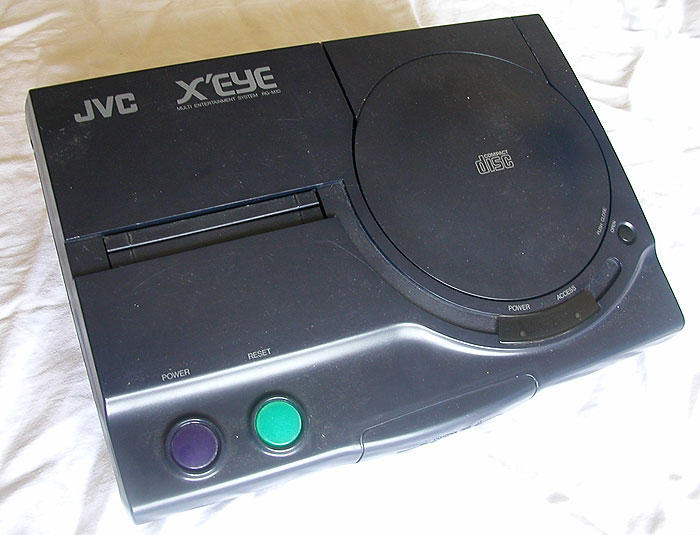 La X'Eye de JVC, un couple Megadrive / MegaCD.