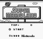 Super Mario Land sur Super Mario Land