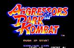 Aggressors of Dark Kombat sur Aggressors of Dark Kombat