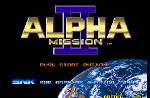 Alpha Mission II sur Alpha Mission II