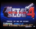 Metal Slug 4 sur Metal Slug 4