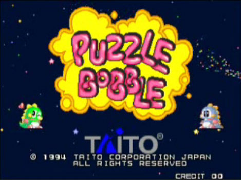online games puzzle bobble