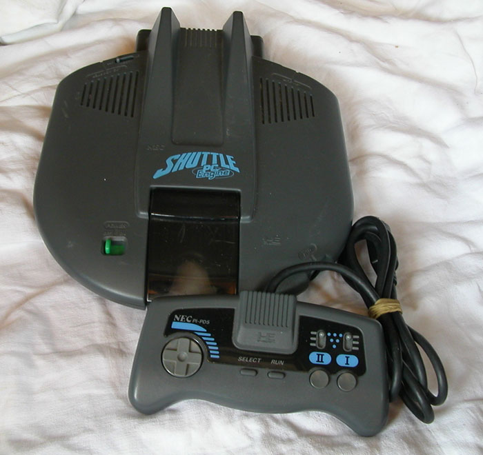La Nec PC-Engine Shuttle, un bel OVNI.