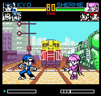 King of Fighters R2 sur Neo Geo Pocket Color.