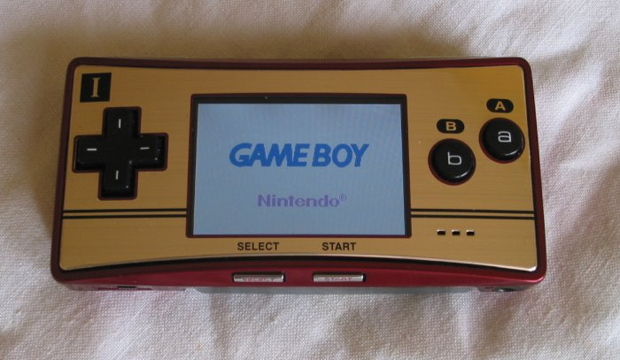 La Game Boy Micro est sa petite taille très impressionnante.
