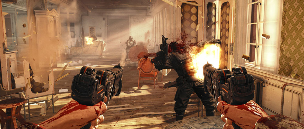 Wolfenstein : The New Order sur Xbox One.