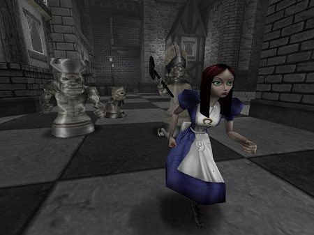 American McGee's Alice sur PC.