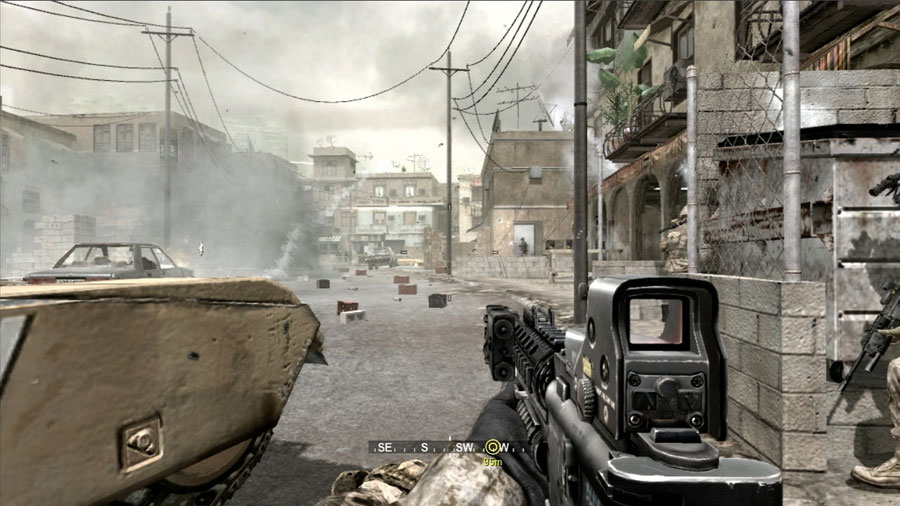 Call of Duty 4 : Modern Warfare sur Playstation 3.
