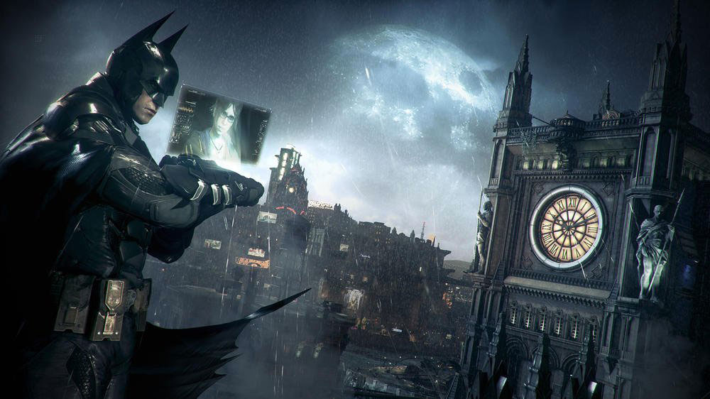 Batman Arkham Knight sur Playstation 4.