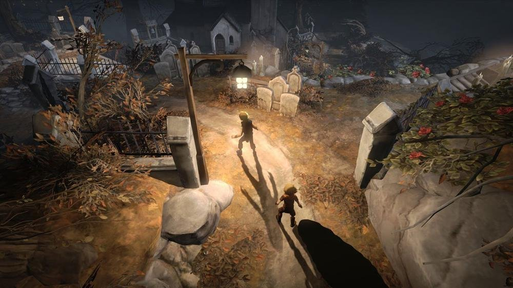Brothers : A Tale Of Two Sons sur Playstation 4.