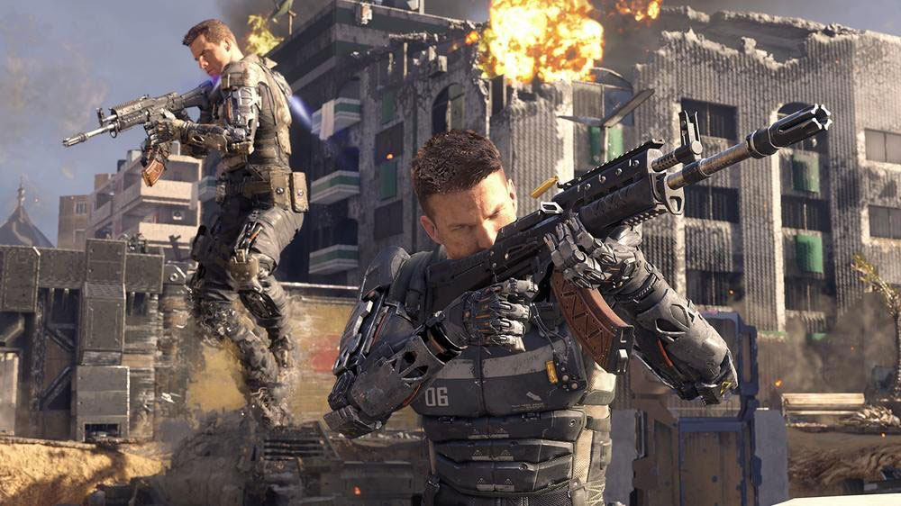 Call of Duty Black Ops III sur Playstation 4.