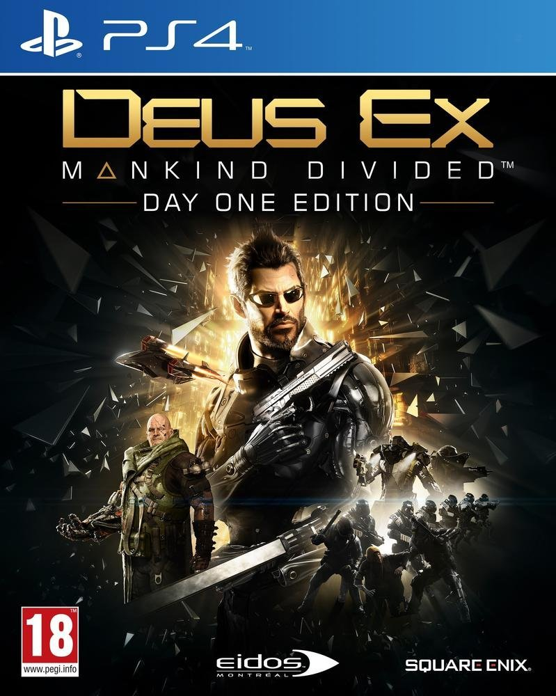 Deus Ex Mankind Divided sur Deus Ex Mankind Divided