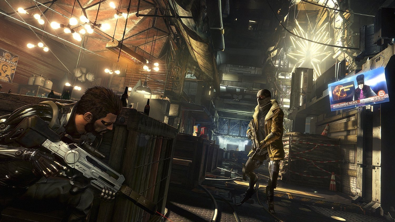 Deus Ex Mankind Divided ur Playstation 4.