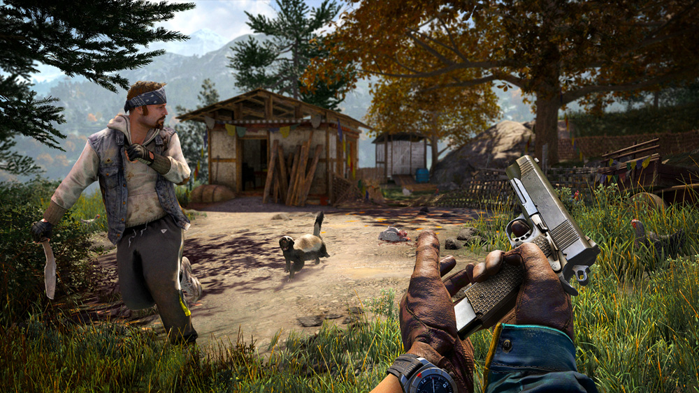 Far Cry 4 sur Playstation 4.