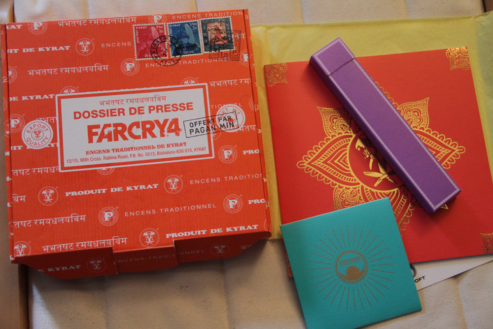 Le press kit de Far Cry 4.