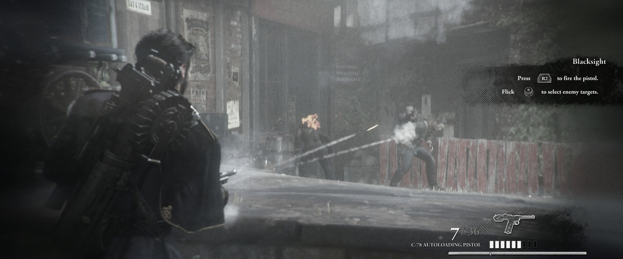 The Order: 1886 sur Playstation 4.