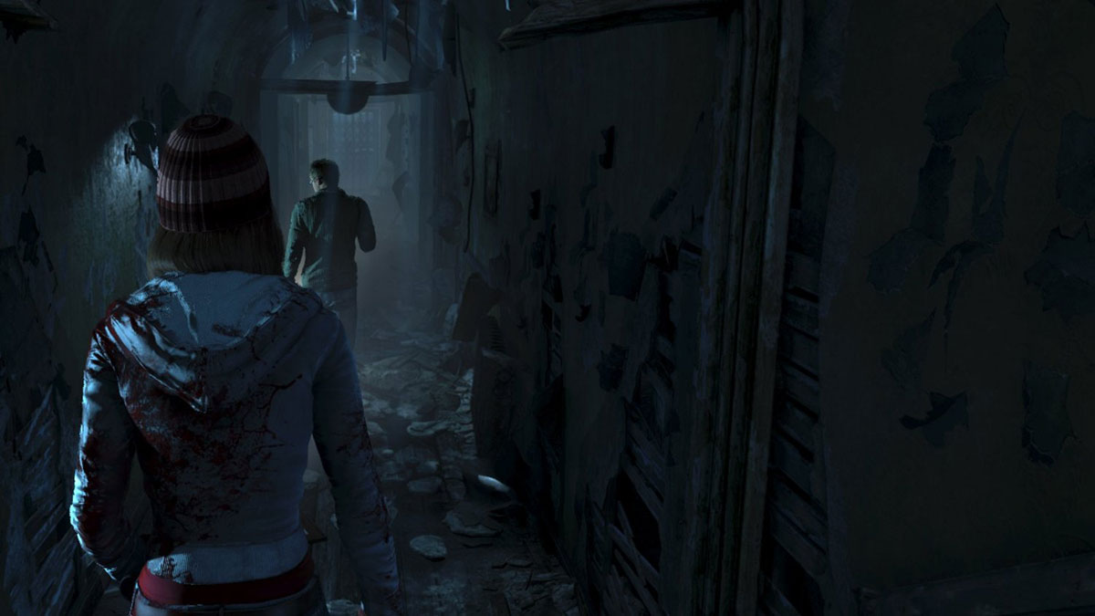 Until Dawn sur Playstation 4.