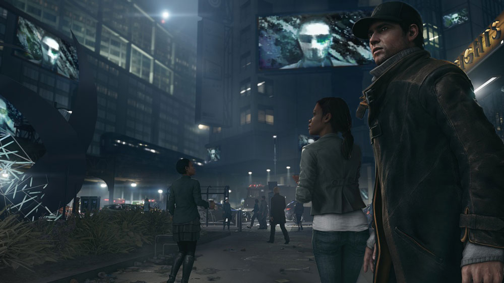 Watch Dogs sur Playstation 4.