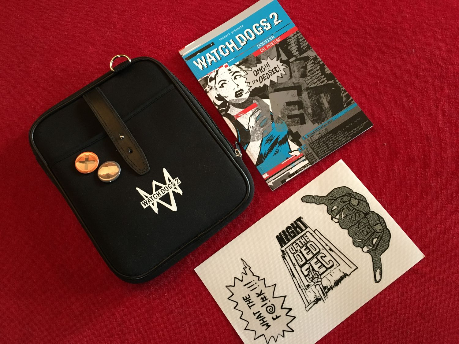 Le press kit de Watchdogs 2.
