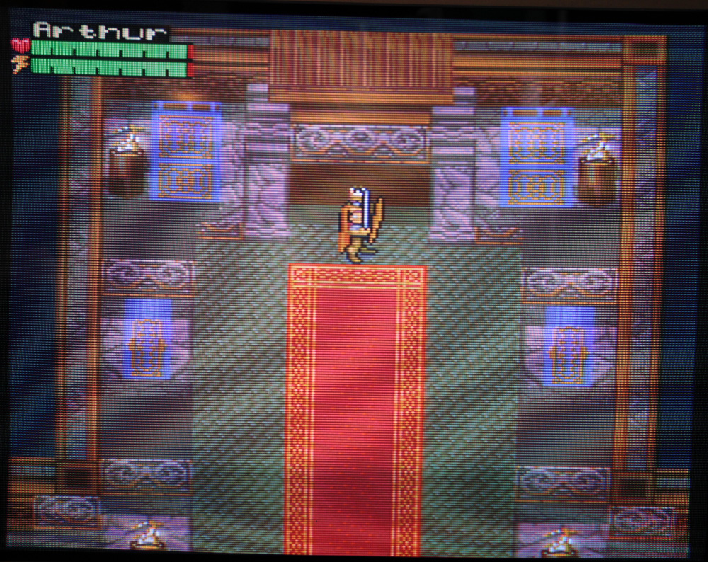 King Arthur and the Knights of Justice sur Super Nintendo.