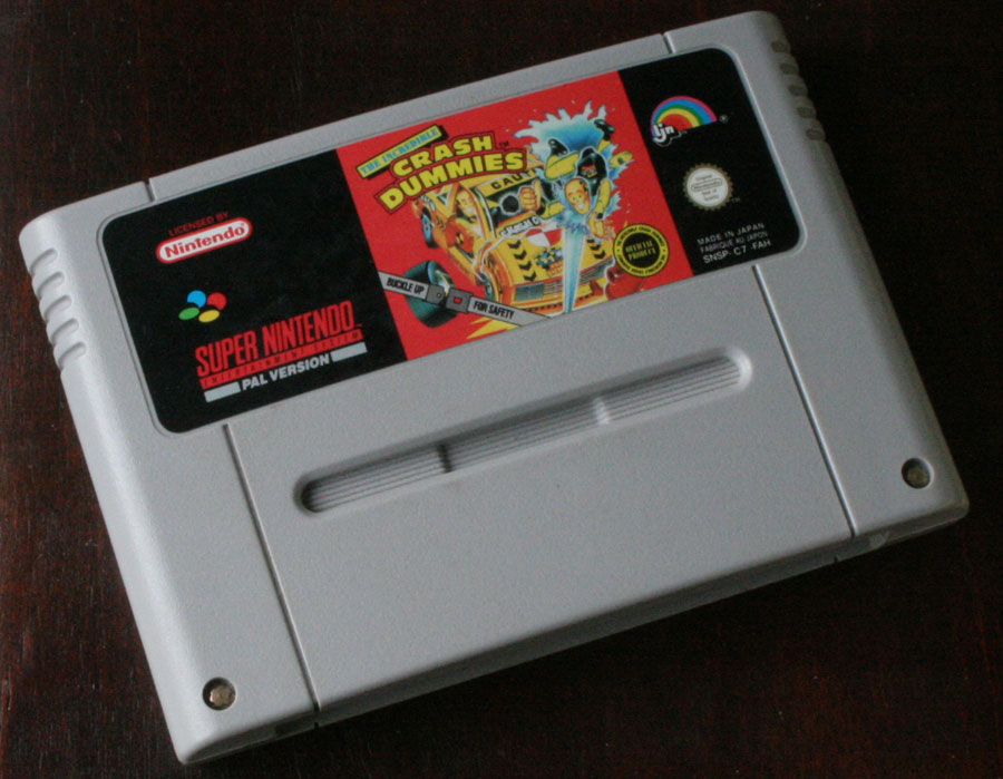Super Sur The Dummies De Incredible Crash Test Nintendo dxoBeC