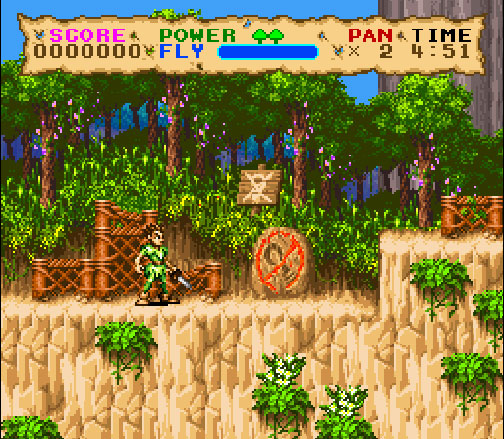 Hook sur Super Nintendo.
