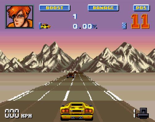 lamborghini american challenge sur super nintendo plus connu sous le nom de crazy cars iii
