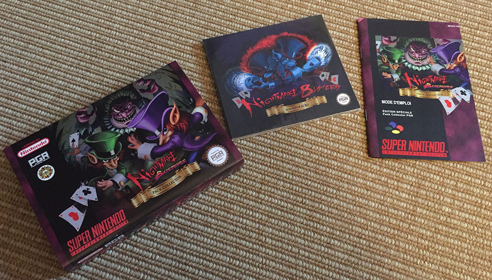 L'édition collector de Nightmare Busters.
