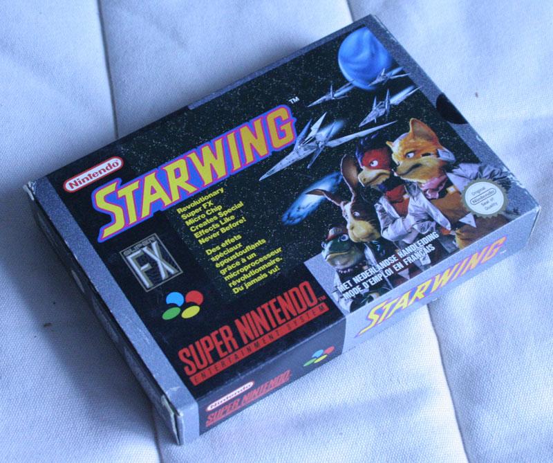 star fox star wing testé sur nintendo super nintendo année de sortie