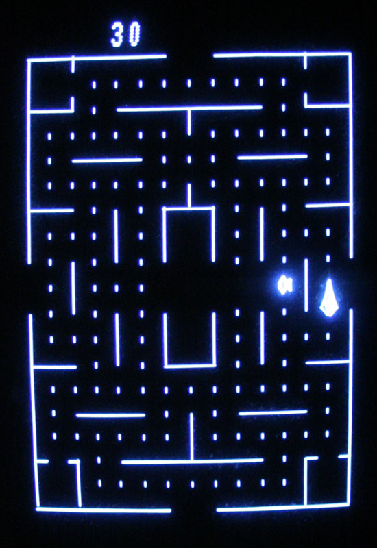Clean Sweep sur Vectrex.