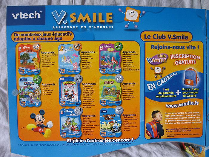 Vtech Vtech Vsmile Console et jeux