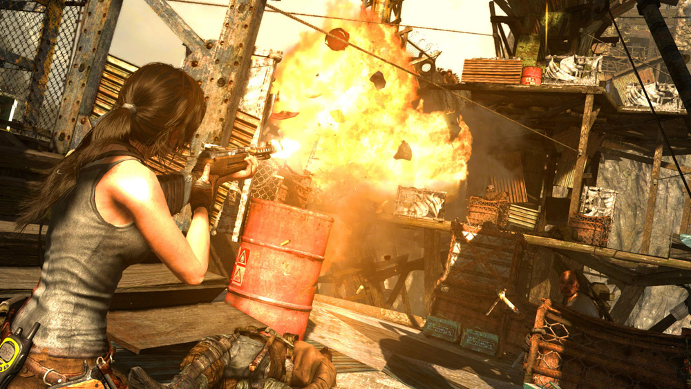Tomb Raider : Definitive Edition sur Xbox One.